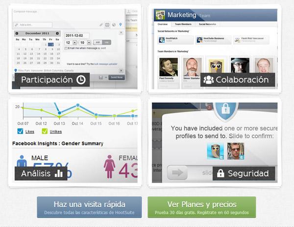 hootsuite 2 Hootsuite ¿La herramienta de gestión integral de Redes Sociales perfecta?